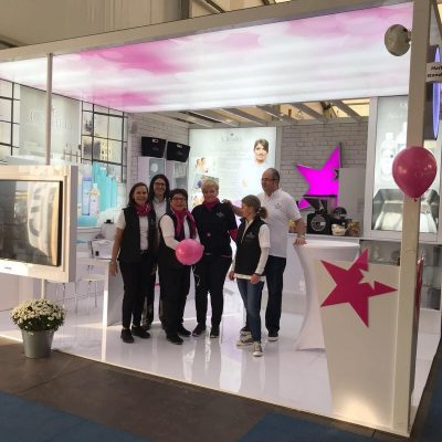 Cleafin Messestand