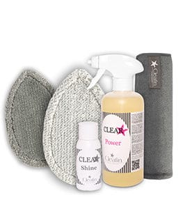Cleafin Plus Pad-Set Anthrazit