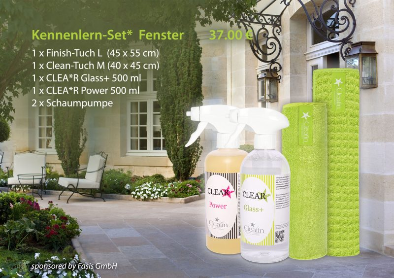 Cleafin Kennenlern-Set* Fensterreinigung